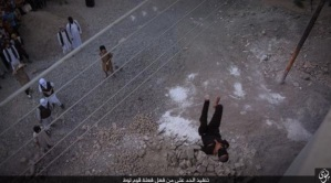 Gay man thrown off building by ISIS militants