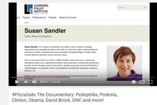 SUSAN SANDLER ANOTHER PEDOPHILE
